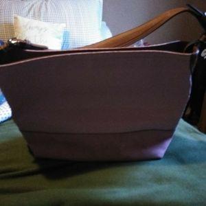 Coach pink shoulder bag